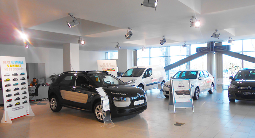 Showroom Citroen Dageco